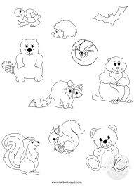 Disegni Da Colorare Degli Animali Che Vanno In Letargo Fredrotgans
