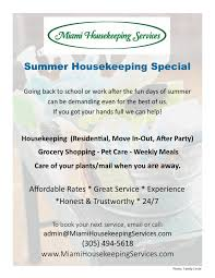 miami housekeeping services flyerresidential jpg miami housekeeping services flyerresidential