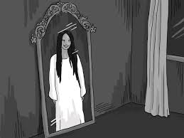 ghost mirror scary ghost girl in the mirror (best funny videos
