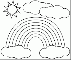 Small Picture superb rainbow coloring pages with sun coloring page dokardokarznet