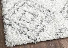 white shag rug. Plush Shag Rug Living Room White P