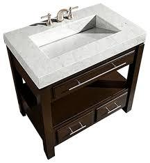 36 modern single sink bathroom vanity transitional bathroom vanities and sink