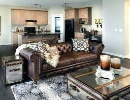 great rug for brown couch living room idea with dark on that go leather sofa chesterfield dark brown couches