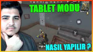 TABLET MODU NASIL YAPILIR ? PUBG Mobile Lite - YouTube