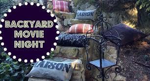 You Can Make Your Own Backyard Movie TheaterMovie Backyard