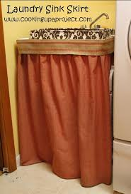 vine style when why and how to use a sink skirt