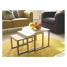 Table Plus Chaise Metal Tables Design Ideas With Yellow Floor Mat