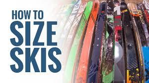Backcountry Ski Size Chart Ski Size Chart Levelninesports Com