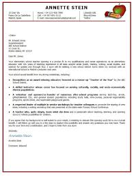 24 Cover Letter Template For Teachers Sample In 23 Astonishing