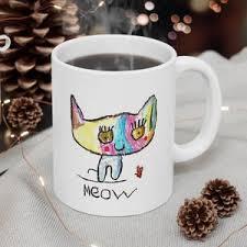 1024x1024 cute drawings for kids cute drawings for kids. Baby Fennec Fox Mug Unique Coffee Mug Pencil Drawing Cute Etsy