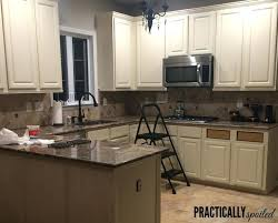 painting oak kitchen cabinets white charming how to paint oak kitchen cabinets bright inspiration 1 tips