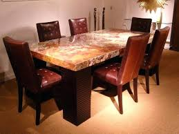 granite dining table decorative granite dining room tables and chairs with round stone dining room tables