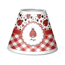 ladybug lamp shade ladybug lamp shade ladybugs gingham chandelier personalized baby n kidsline ladybug lamp and