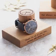 gent s single watch stand by mijmoj design notonthehighstreet com gent s single watch stand
