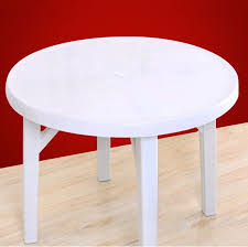 china best pp material outdoor garden beach plastic round table china dining table leisure table