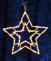 Led Weihnachts Fenster Silhouette Xxl Motiv Stern