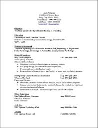 Counseling Psychologist Sample Resume Psychology Sample Resume shalomhouseus 48
