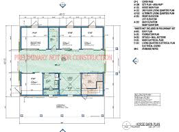 Garage Plan 45512 At FamilyHomePlanscomBarn Plans With Living Quarters Floor Plans