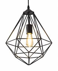 Hanglamp Draadstaal Zwart Scaldare Cabiate A Tot Z Led