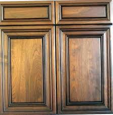 Cabinet Door Styles Maple Flat Panel Cabinet Door In Ginger With