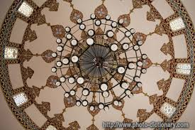 ceiling chandelier photo picture definition ceiling chandelier word and phrase image