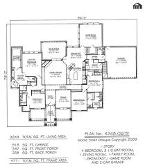 Small Four Bedroom House Plans 4 Bedroom House Plans Front Side Of The Predazzo Italian Unqiue
