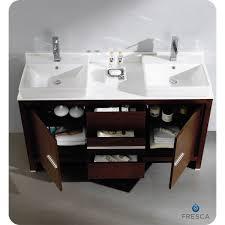 60 inch bathroom vanity double sink. 60 inch double sink vanity with quartz | inches wenge brown modern bathroom 6