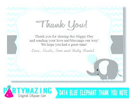 Thank You Note Size What To Say In A Baby Shower Thank You Card Full Size Of Lobby
