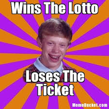Wins The Lotto - Create Your Own Meme via Relatably.com
