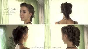downton abbey hair tutorial sybil 2
