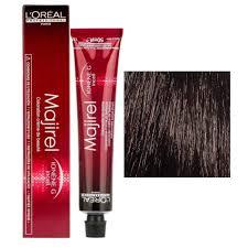 Loreal Professional Hair Color Chart Majirel Loreal Professionnel Majirel 4 Brown 49 5 G Beauty Colouring Cream