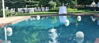 delightful designs ideas indoor pool. Pool Decor Ideas For Your Backyard Wedding More Delightful Designs Indoor