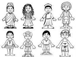 Coloriamo I Bambini Del Mondo Mamma E Casalinga