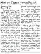RGJ archives: Full text of Marianne Theresa Johnson-Reddick's obituary