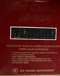 jet sound js 224 graphic equalizer amplifier for car stereo jetsound equalizer js 224 jpg 43479 bytes