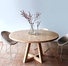 white wood round dining table new natural wood round dining table cross leg round dining table