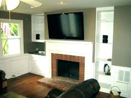 tv above fireplace wires installing above fireplace hide wires mounted above fireplace elegant wall mount over