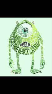 Type Art - Mike Wazowski, Giulia Marin - ArtStation