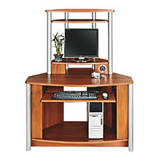 computer desks office depot. Brilliant Depot Citadel Corner Computer Desk With Integrated USB Hub 60 1116 Throughout Desks Office Depot P