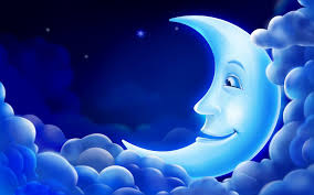 Blue Moon 3D Animation Wallpaper