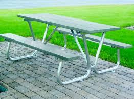 aluminum picnic tables. Picnic Table / Outdoor Contemporary Aluminum Aluminium 156 Regarding Benefits Of Tables