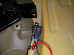 how to install backup lights kc in how to guides forum grab the green wire attached to the fuse holder and ring terminal remove the fuse from the fuse holder and remove the 10mm nut from the positive battery