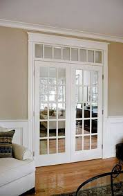 interior french doors transom. Home Design And Decor , Ideas For French Doors : Transom White Interior