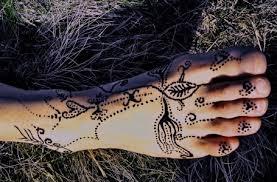 Tetování Hennou Můj První Pokus Zwillingekaulitz