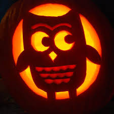 Owl Pumpkin Carving Pattern
