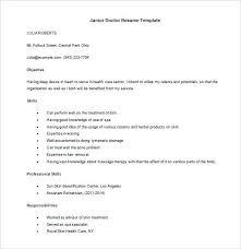 Medical Cv Template Pdf Junior Doctor Resume In Ms Word Doctor Cv ...