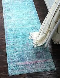 aqua blue runner rug light 2 7 x 9 area rugs 1 0 s image aqua blue runner rug light