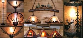 rustic lamp shade ideas wildlife chandelier lighting examples pro mica pendant light rustic lamp shades