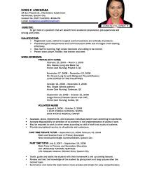 Resume Samples For It Jobs Job Resume Samples Pdf Curriculum Vitae Download Professional 14