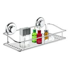 suction cup shower caddy super vacuum basket rustproof soap dish rectangle